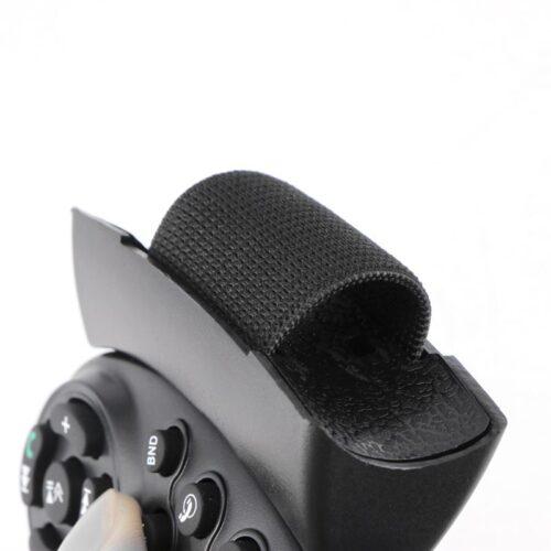 Black Portable 11-Key Controller Car Steering Wheel Controller Car MP5 Multimedia Player DVD Car Steering Wheel Multimedia