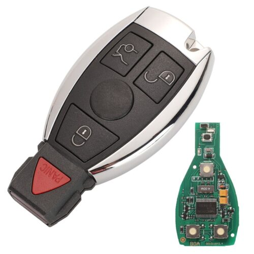 Replacement Mercedes Smart Key Shell