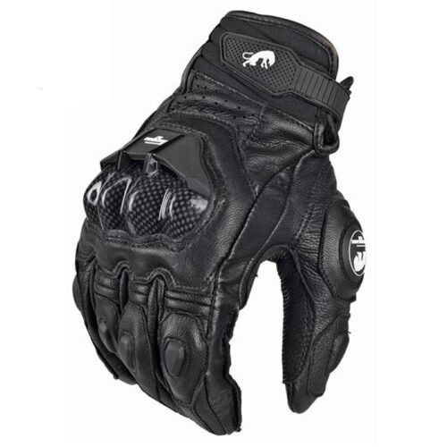 Men Motorcycle Leather Gloves