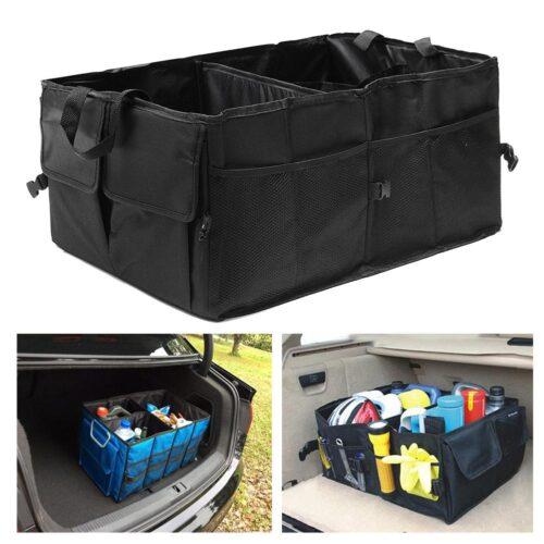Car Trunk Storage Bag (Black)